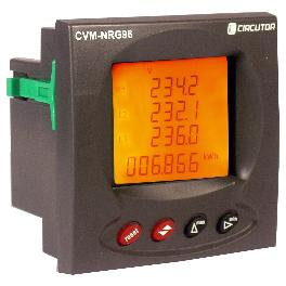 Metartec e3's CVM NRG 96 power analyser